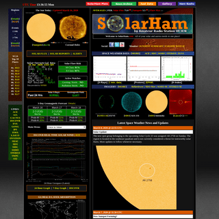 SOLARHAM.com - Solar Cycle 25 - Space Weather Website