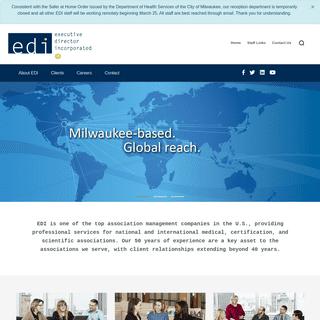 EDI - Executive Director Incorporated