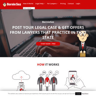 ArchiveBay.com - berniesez.com - Receive offers for your legal case from our curated list of lawyers