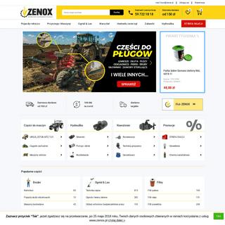 Części i artykuły rolnicze - sklep internetowy ZENOX