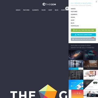 TheGem Creative High-Performance Multi-Purpose WordPress Theme