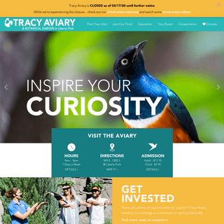 Tracy Aviary - Home