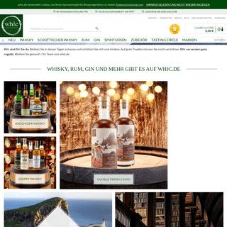 Jetzt Whisky kaufen auf whic.de