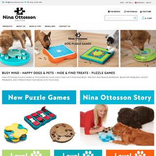 Nina Ottosson Dog Puzzle Games & Toys