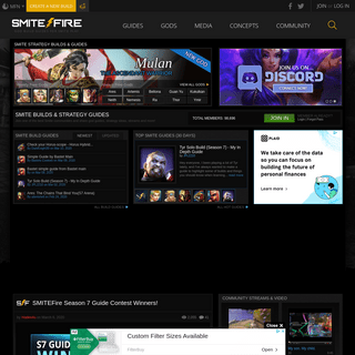 Smite Builds & Guides for Gods and General Strategy. Find Smite Guides on SMITEFire!
