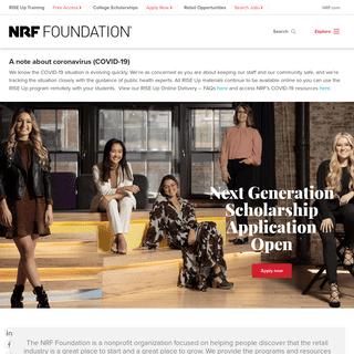 NRF Foundation Site - Homepage