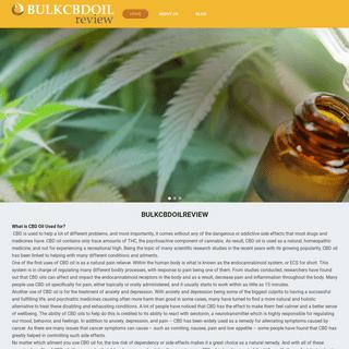 bulkcbdoilreview.org - BULKCBDOILREVIEW