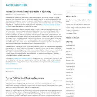 Tango Essentials – Advertising Media