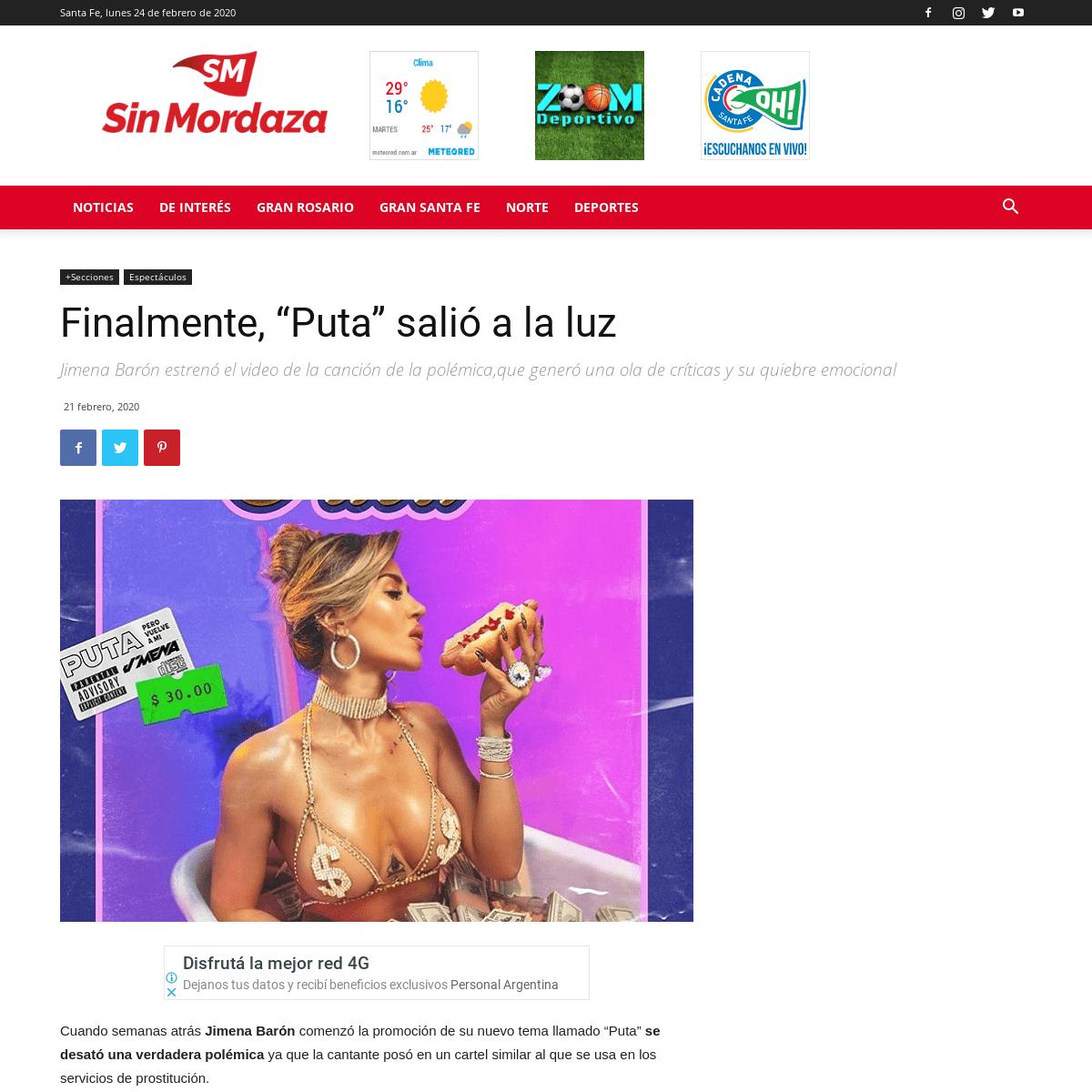 ArchiveBay.com - sinmordaza.com/noticia/811483-finalmente-puta-salio-a-la-luz.html - Finalmente, -Puta- salió a la luz - Sin Mordaza