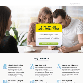 Payday Max Loan Review - Get Cash Online Easy and Quick