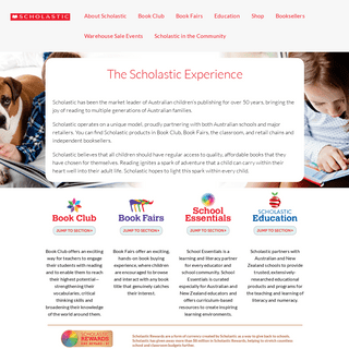 ArchiveBay.com - scholastic.com.au - Home - Scholastic Australia