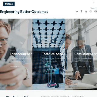 Belcan Global Engineering, Consulting, & Technical Services