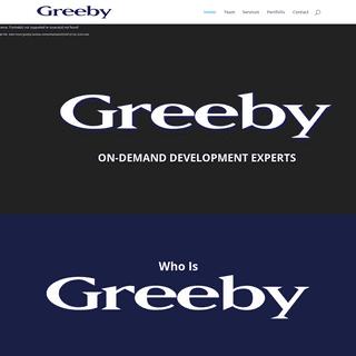 Greeby - On-Demand Development Consultants