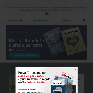 Altroconsumo - Associazione di Consumatori Italiana