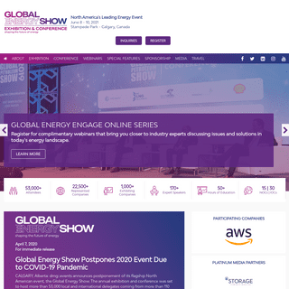 The Global Energy Show - North America's Leading Energy Event