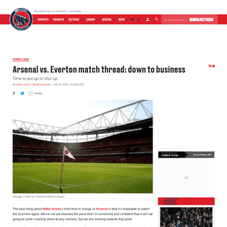 Arsenal vs. Everton Premier League 2020 online streaming- start time, TV schedule, how to watch online - The Short Fuse