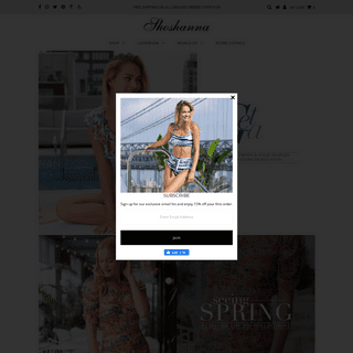 Shoshanna.com – Shoshanna