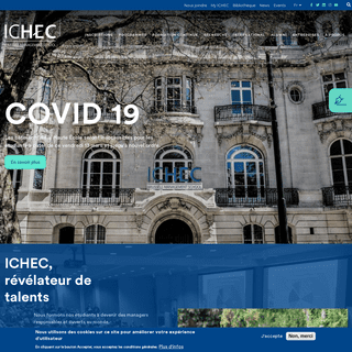 COVID 19- Mesures de prévention - ICHEC