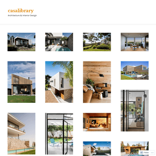 casalibrary – Architecture & Interior Design