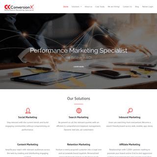 ArchiveBay.com - conversionx.co - ConversionX - Performance Marketing Specialist