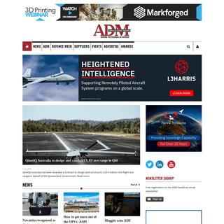 Australian Defence Magazine - Australian Defence Magazine