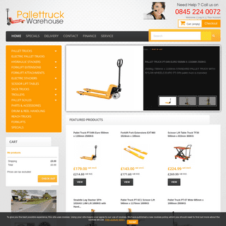 ArchiveBay.com - pallettruckwarehouse.co.uk - PALLET TRUCK WAREHOUSE