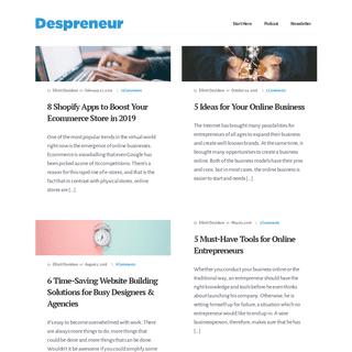 Despreneur - Magazine for Design Entrepreneurs