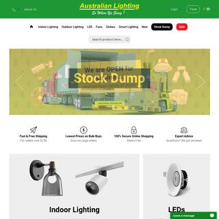 Lighting Shops Melbourne - Discount Lighting - Australian Lighting & Fans