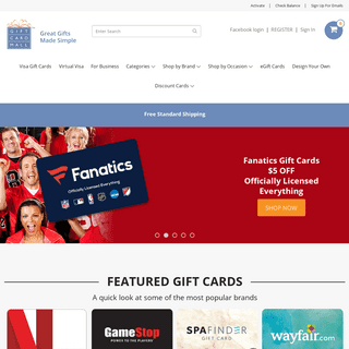 GiftCardMall.com - Great Gifts Made Simple