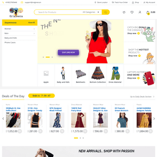 Originera Online Shopping - Shopping at affordable prices in India