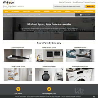 Whirlpool Spares, Parts & Accessories