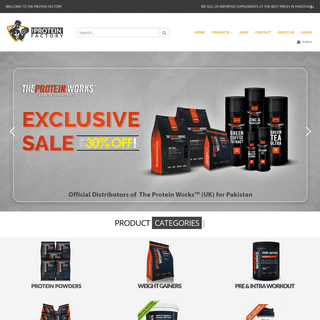 Imported Bodybuilding supplements at low prices-The Protein Factory
