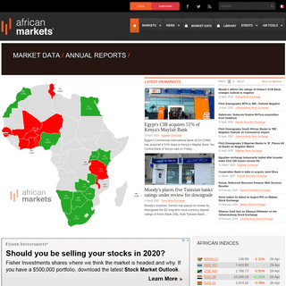 african markets - The leading African Capital Markets Portal - african markets