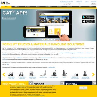 Cat Lift Trucks - Leading Forklift Trucks Manufacturer