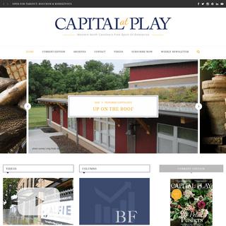 Capital At Play - Western North Carolina's Free Spirit of Enterprise