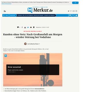 ArchiveBay.com - www.merkur.de/multimedia/telekom-vodafone-1-1-o2-stoerung-internet-festnetz-hilfe-zr-13535246.html - Telekom, 1&1, o2 und Vodafone- Störung am Morgen - Ursache nun bekannt - Multimedia