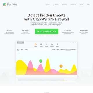 GlassWire - Personal Firewall & Network Monitor