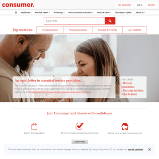 Compare Products & Read Product Reviews & Reports - Consumer NZ