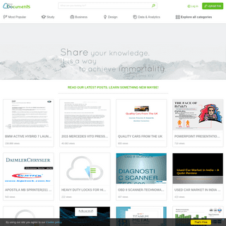Share and Discover Knowledge - VDOCUMENTS