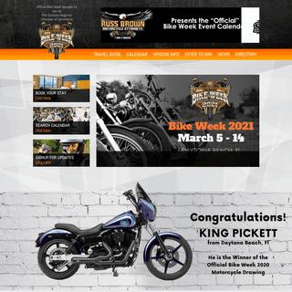Daytona Bike Week - 2021 Official Bike Week Website
