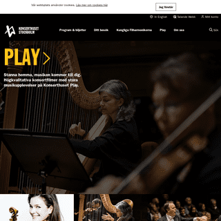Konserter i Stockholm - Konserthuset Stockholm