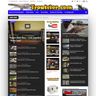 Trout Fishing and Fly Fishing Information and Tips