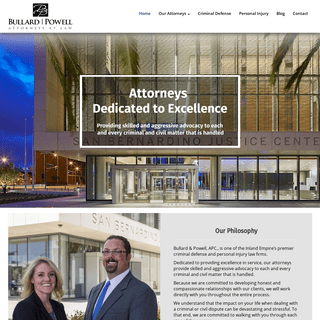 ArchiveBay.com - bullardpowell.com - Bullard & Powell, APC. - One of Inland Empire Premier Law Firms