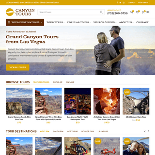ArchiveBay.com - canyontours.com - Grand Canyon Tours from Las Vegas - Starting at $75