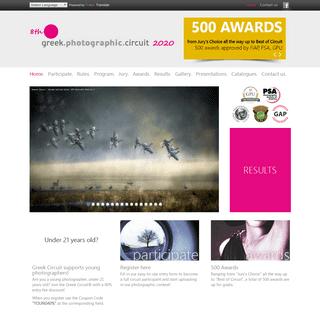 Home - 8th Greek Photographic Circuit 2020 - Greek Photography Contest, International Photographic salon of fine art photography