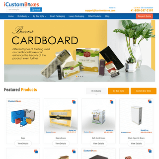 ArchiveBay.com - icustomboxes.com - i Custom Boxes - Customize Your Own Custom Boxes Wholesale