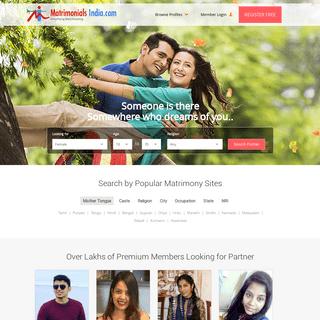 Matrimony Sites, Matrimonial, Online Matchmaking & Marriage Services