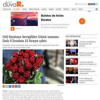 ArchiveBay.com - www.gazeteduvar.com.tr/ekonomi/2020/02/13/gul-fiyatina-sevgililer-gunu-zammi-dali-5-liradan-12-liraya-cikti/ - 14 Şubat zammı- Gül 12 lira oldu