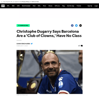 Christophe Dugarry Says Barcelona Are a 'Club of Clowns,' Have No Class - Bleacher Report - Latest News, Videos and Highlights