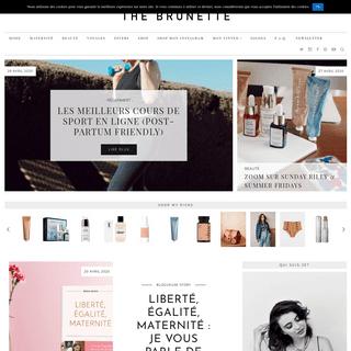 The Brunette - Blog mode parisien par Emilie - Personal & Parisian style blog by Emilie
